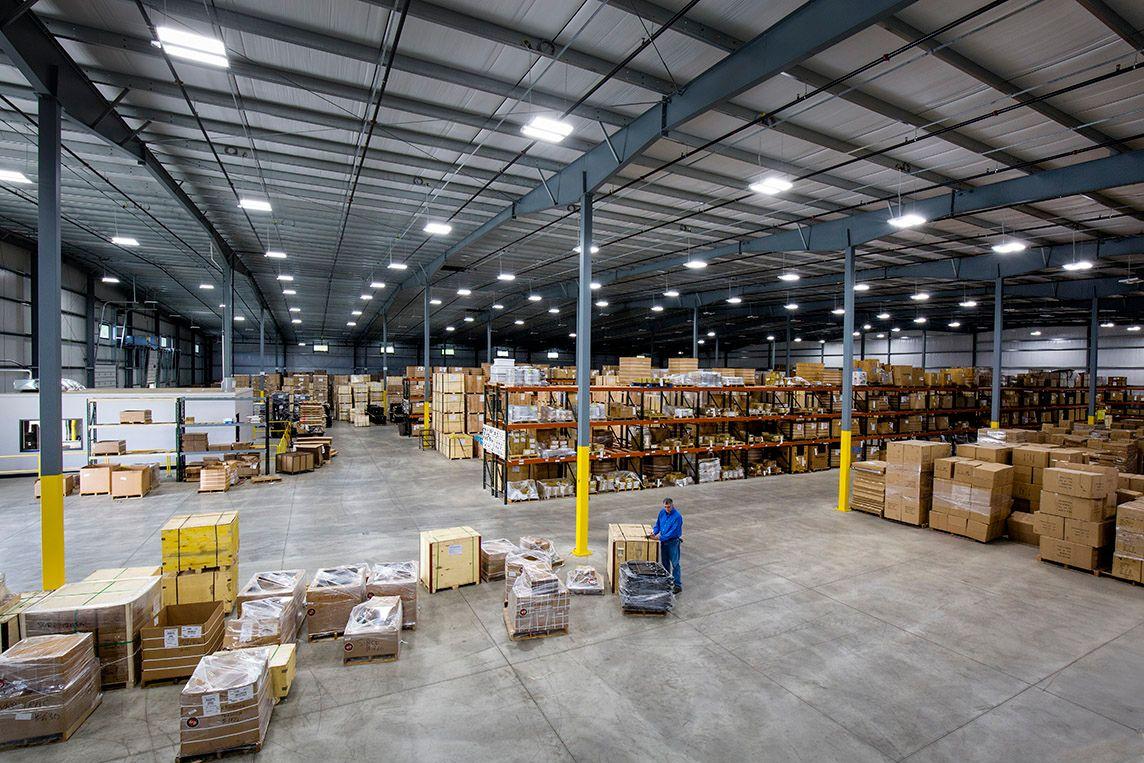 elkhart warehouse staging